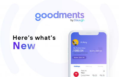 Latest updates to the Goodments app.